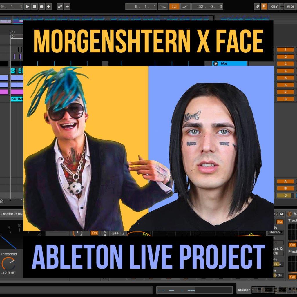 Morgenshtern — Изиреп. Проект в Ableton Live
