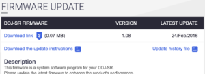 download-firmware-ddj-sr