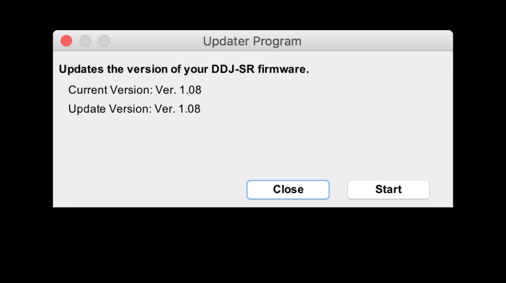 start-update-ddj-sr