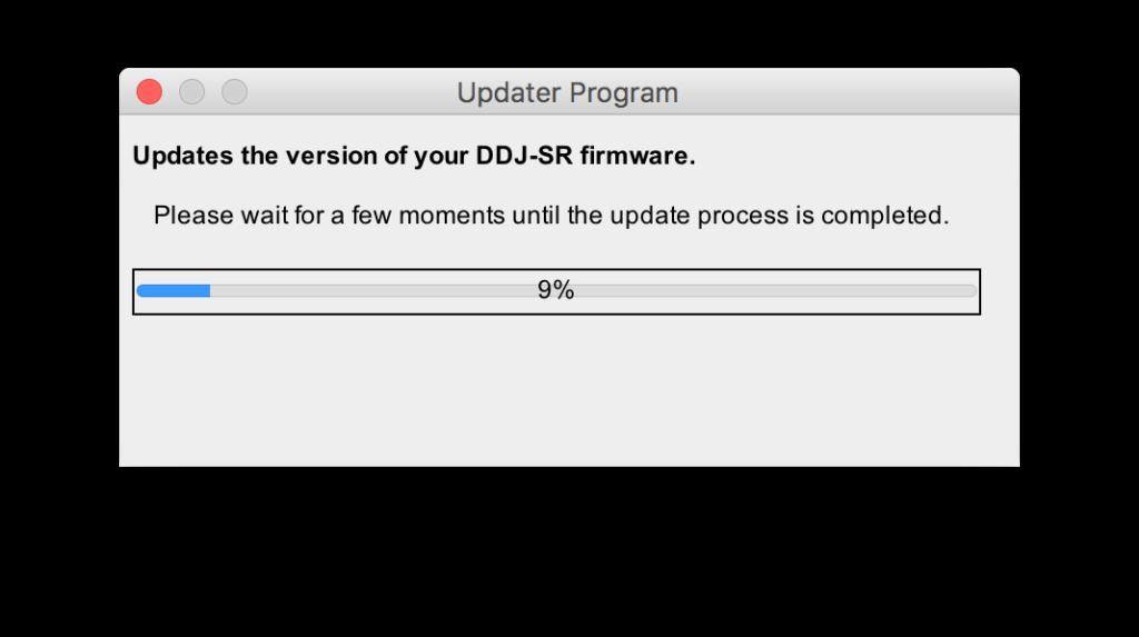 update-firmware-ddj-sr
