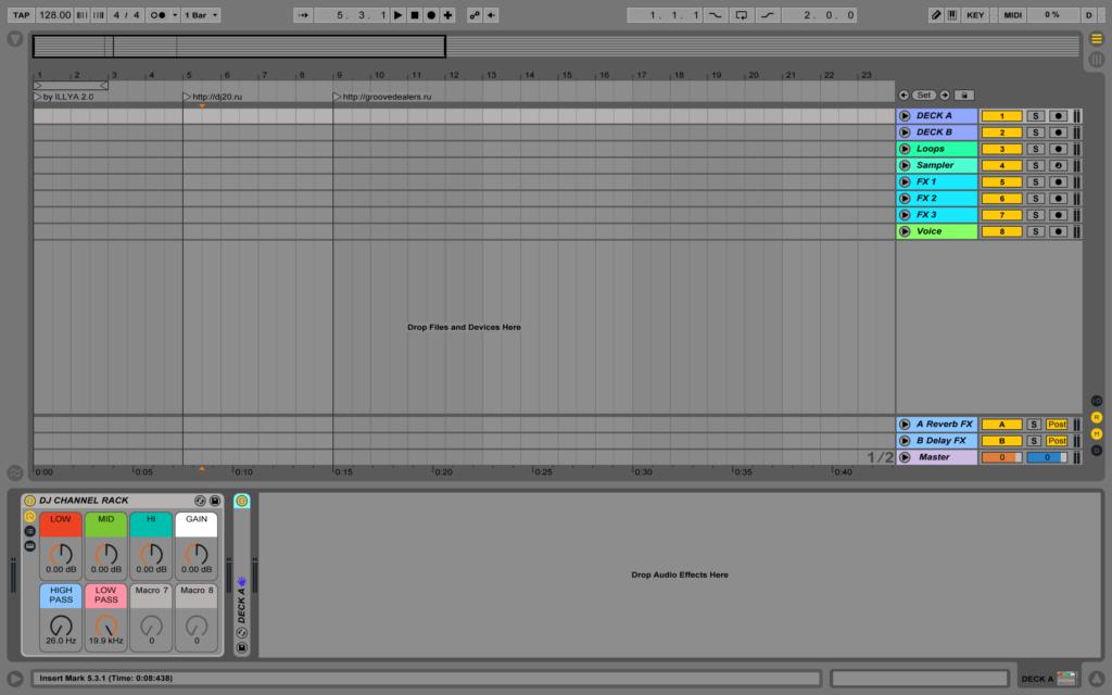 Mix Maker - DJ Template for Ableton Live